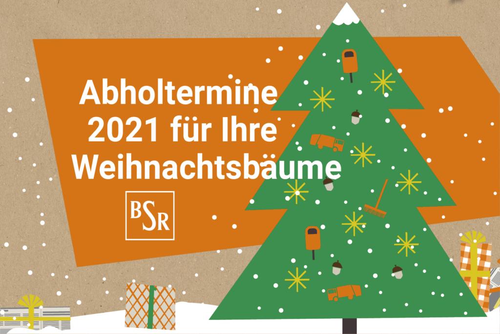 Weihnachtsbaumabholung Berlin 2021